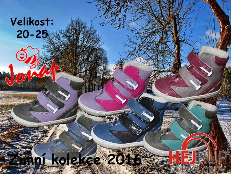 88b16a8966c Dětská zimní obuv JONAP